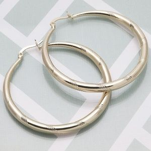 14K Gold Filled Hoops (FJ2017)